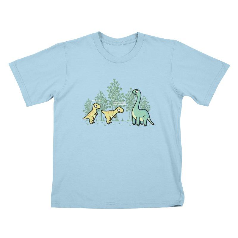 Herbivore Kids T-shirt by Randyotter