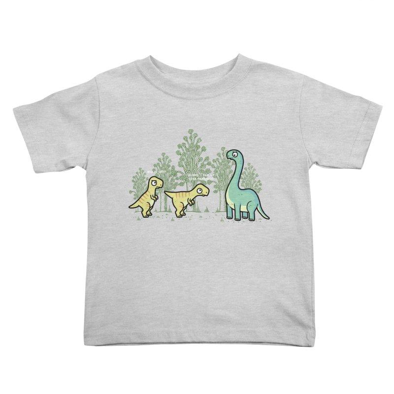 Herbivore Kids Toddler T-Shirt by Randyotter