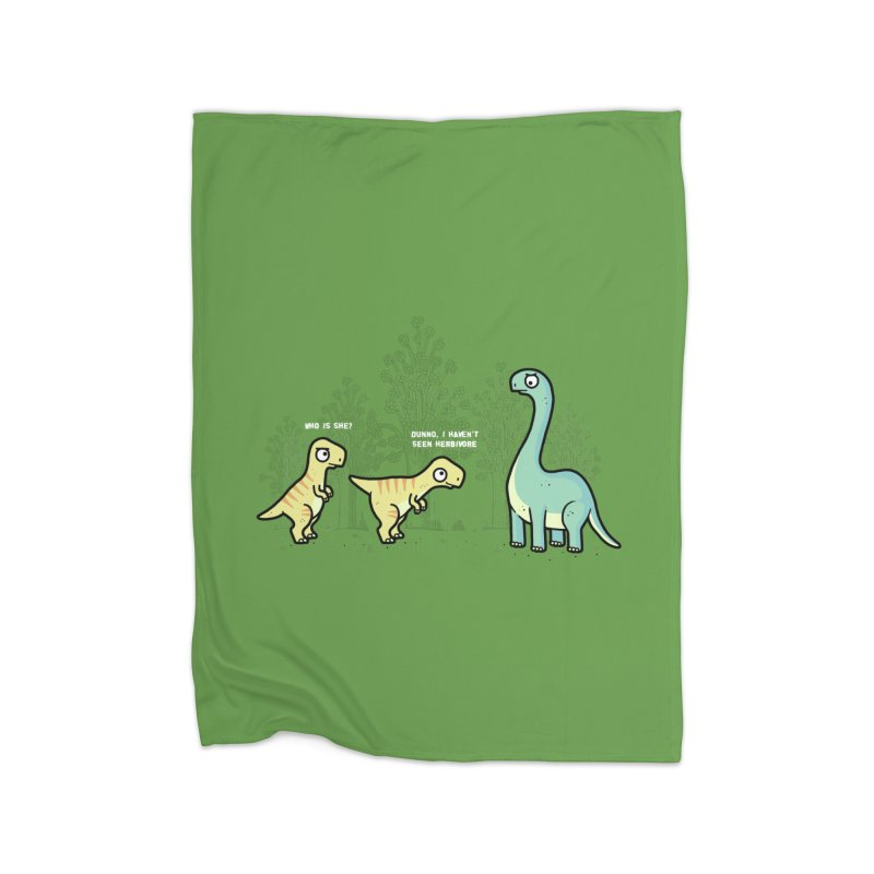 Herbivore Home Blanket by Randyotter