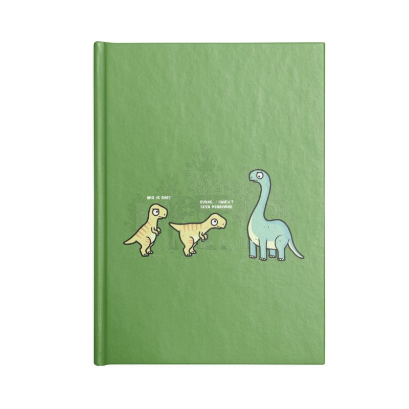 Herbivore Accessories Notebook by Randyotter