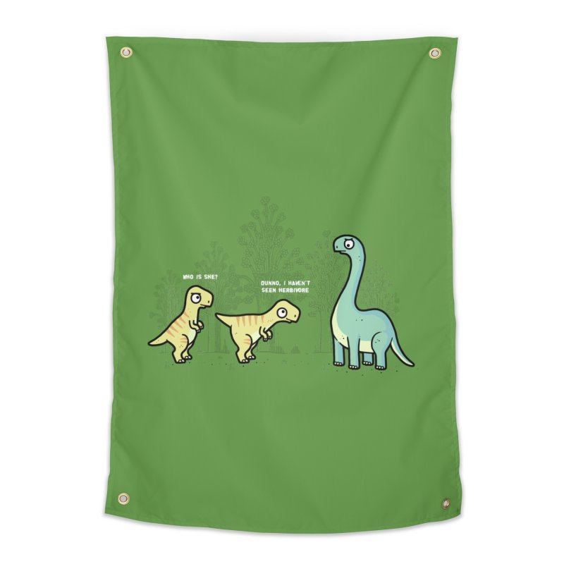 Herbivore Home Tapestry by Randyotter