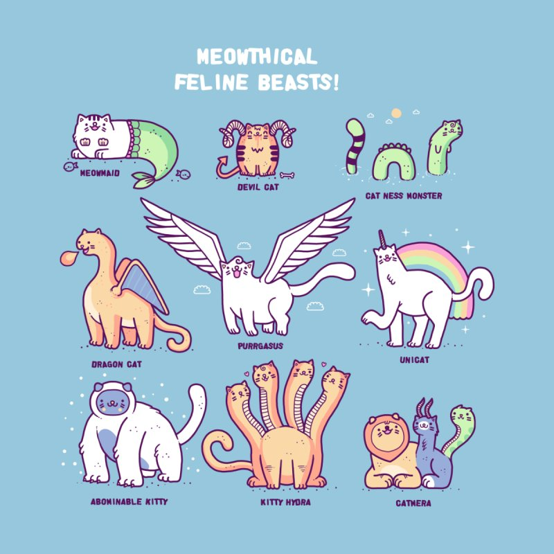 Meothical beasts   by Randyotter