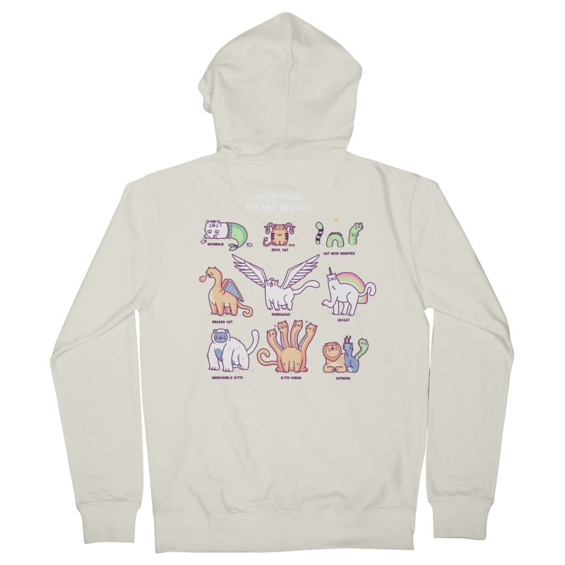 Meothical beasts Men's Zip-Up Hoody by Randyotter