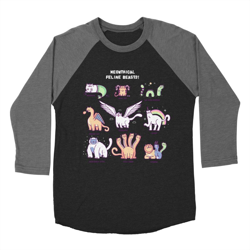 Meothical beasts Men's Baseball Triblend T-Shirt by Randyotter