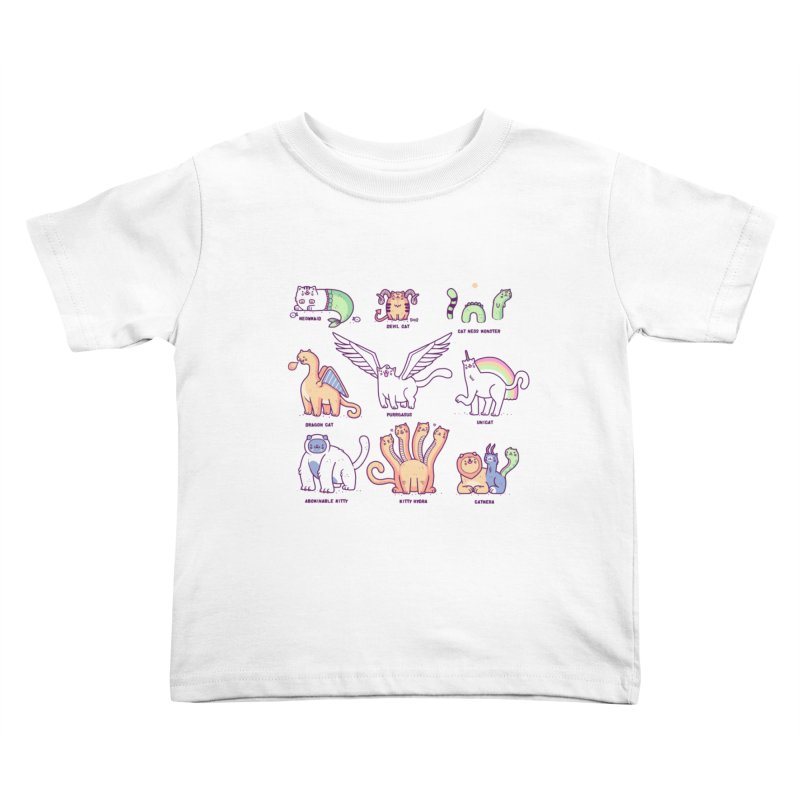 Meothical beasts Kids Toddler T-Shirt by Randyotter