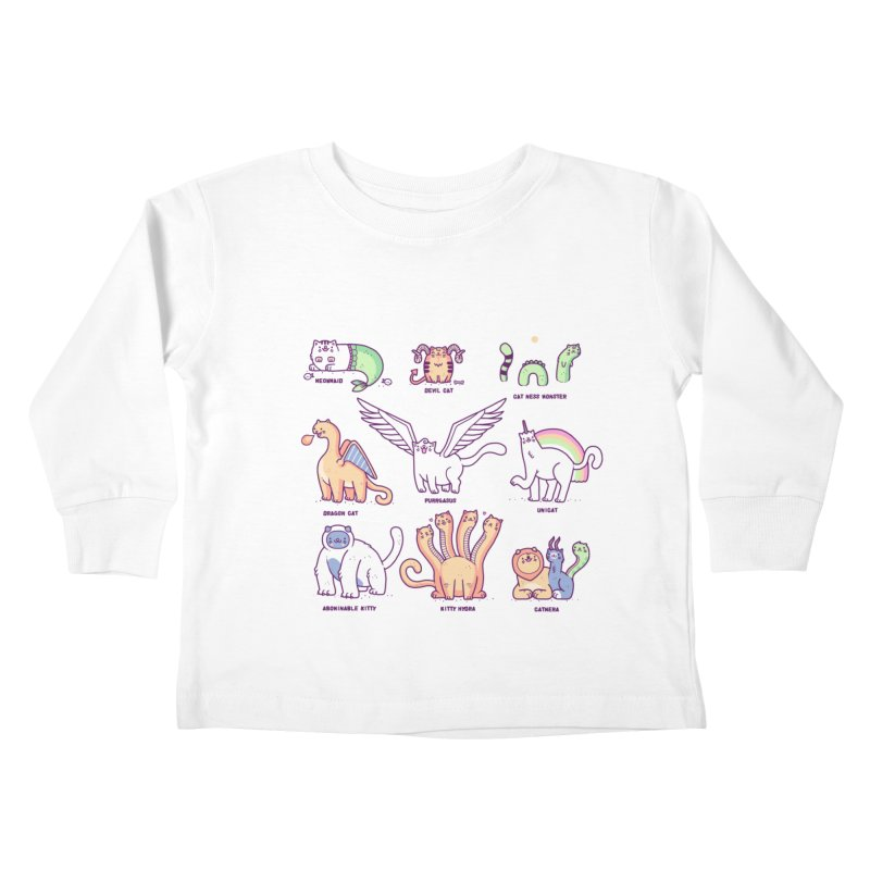 Meothical beasts Kids Toddler Longsleeve T-Shirt by Randyotter