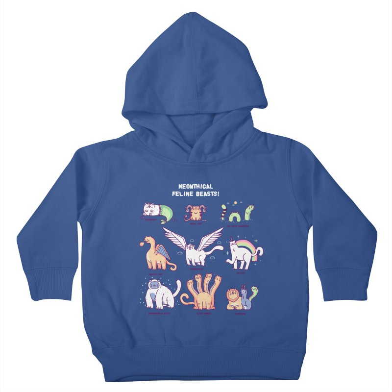 Meothical beasts Kids Toddler Pullover Hoody by Randyotter