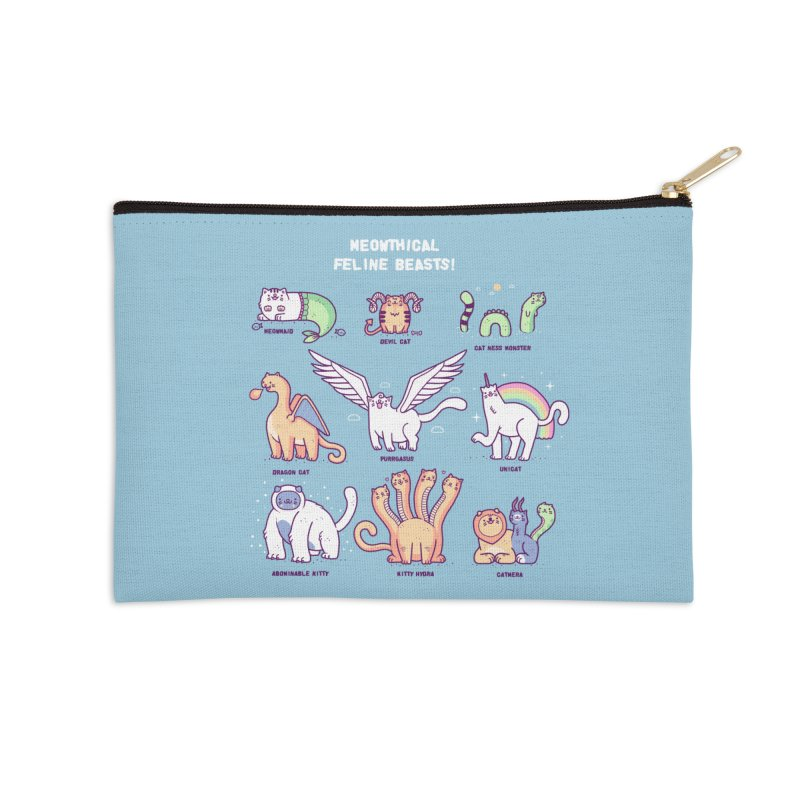 Meothical beasts Accessories Zip Pouch by Randyotter