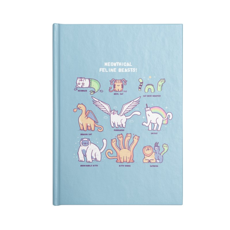 Meothical beasts Accessories Notebook by Randyotter