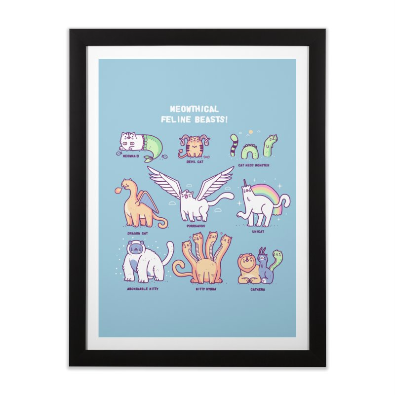 Meothical beasts Home Framed Fine Art Print by Randyotter