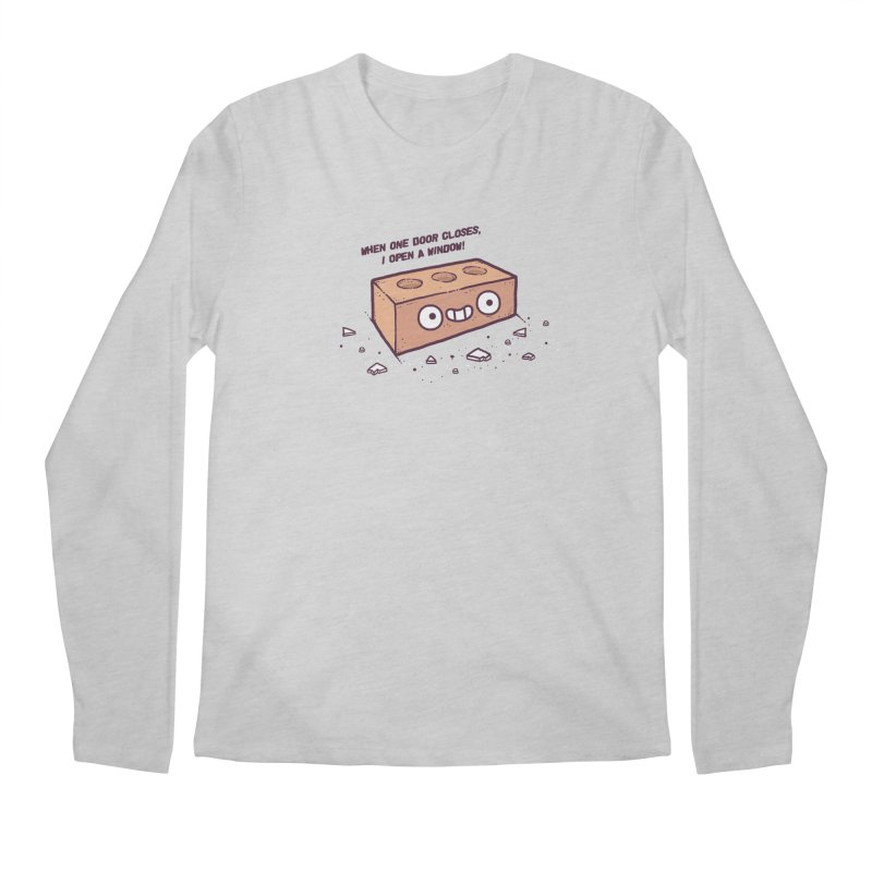 Opportunity  Men's Longsleeve T-Shirt by Randyotter