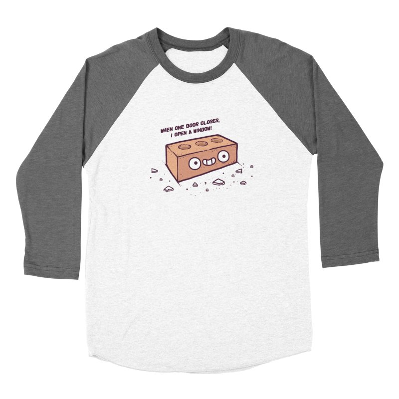 Opportunity  Women's Baseball Triblend T-Shirt by Randyotter