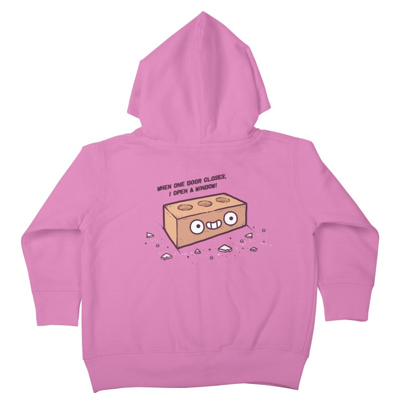 Opportunity  Kids Toddler Zip-Up Hoody by Randyotter
