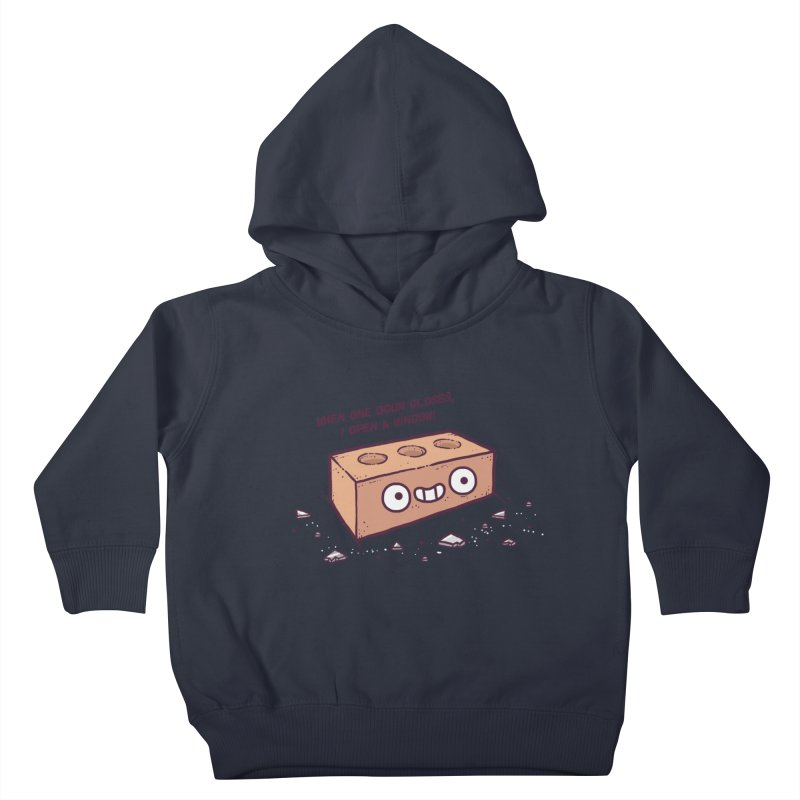 Opportunity  Kids Toddler Pullover Hoody by Randyotter