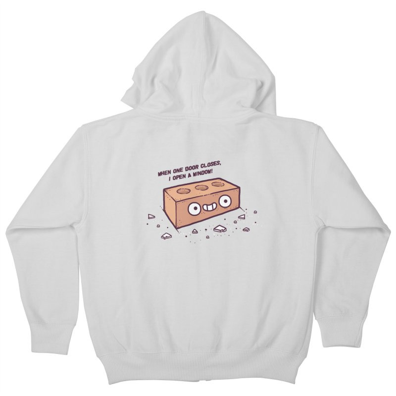 Opportunity  Kids Zip-Up Hoody by Randyotter