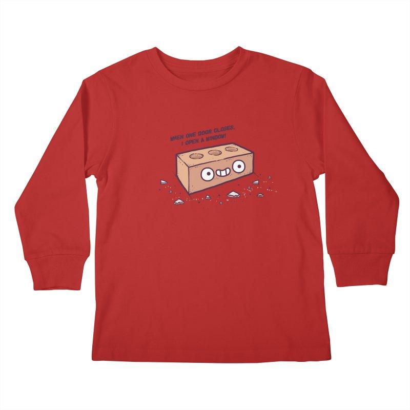 Opportunity  Kids Longsleeve T-Shirt by Randyotter