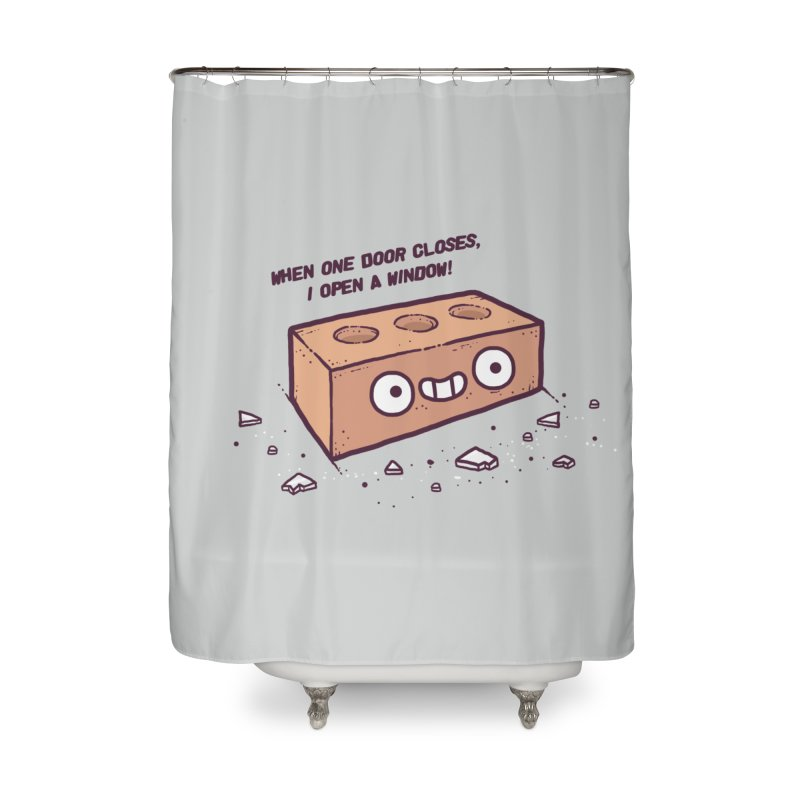 Opportunity  Home Shower Curtain by Randyotter