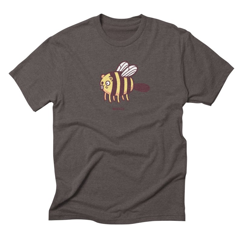 Beever Men's Triblend T-shirt by Randyotter