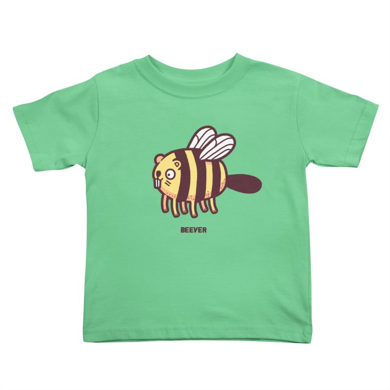 Beever Kids Toddler T-Shirt by Randyotter