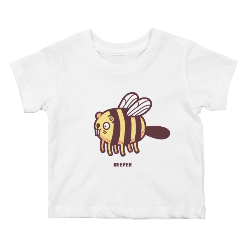 Beever Kids Baby T-Shirt by Randyotter