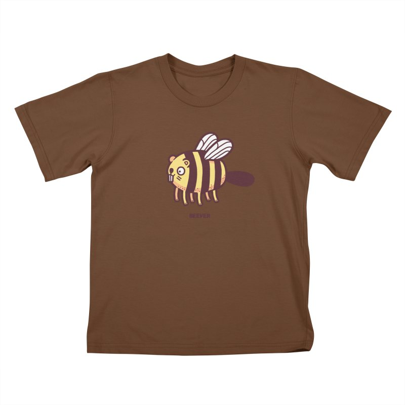 Beever Kids T-shirt by Randyotter