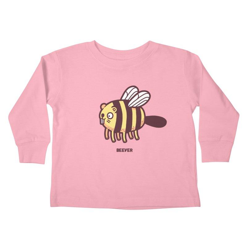 Beever Kids Toddler Longsleeve T-Shirt by Randyotter