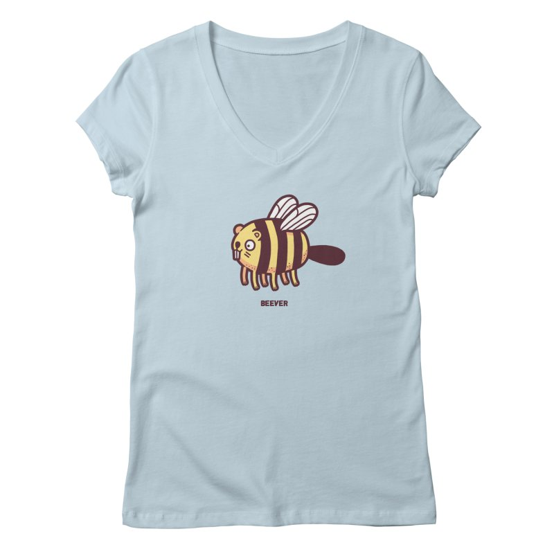 Beever Women's V-Neck by Randyotter