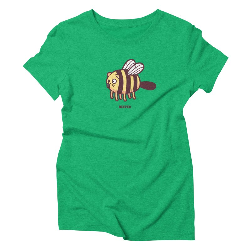 Beever Women's Triblend T-shirt by Randyotter