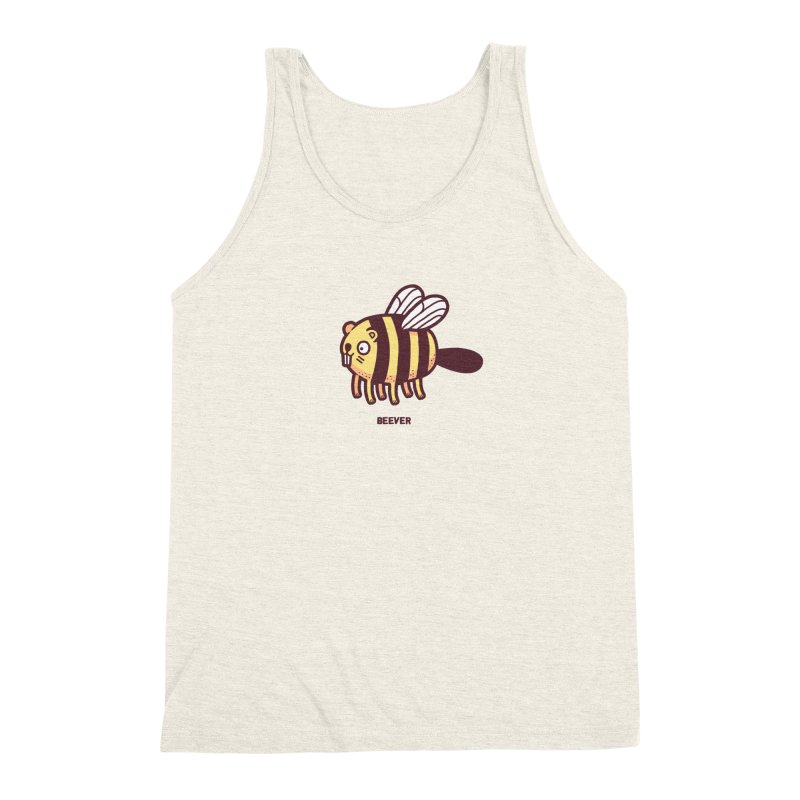 Beever Men's Triblend Tank by Randyotter