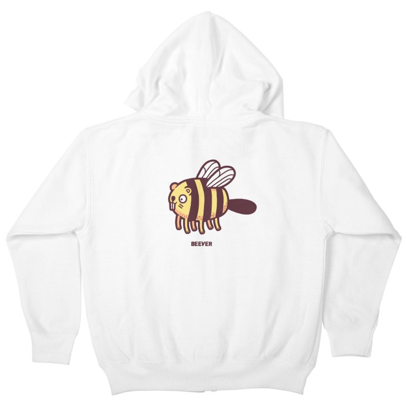 Beever Kids Zip-Up Hoody by Randyotter