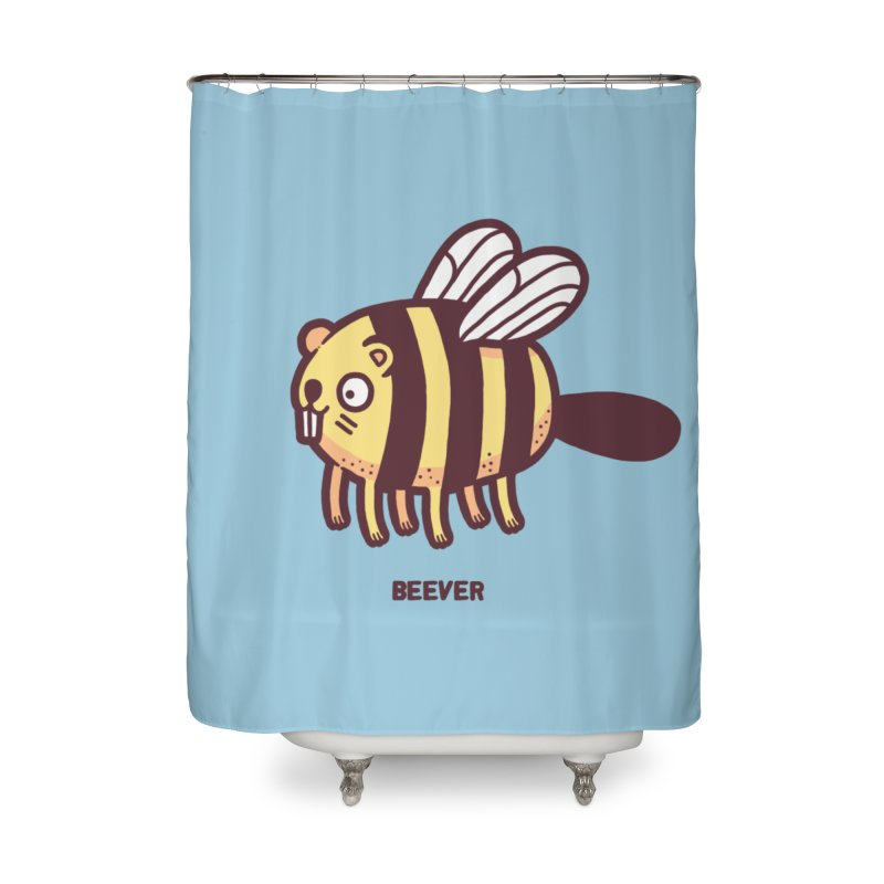Beever Home Shower Curtain by Randyotter