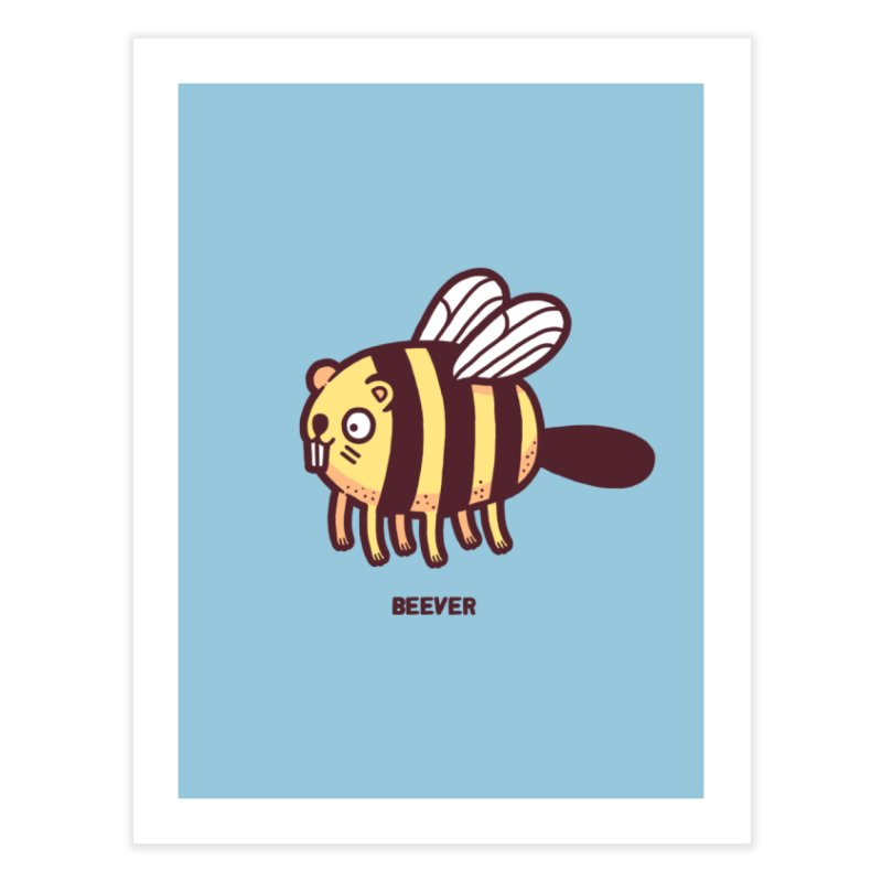 Beever Home Fine Art Print by Randyotter