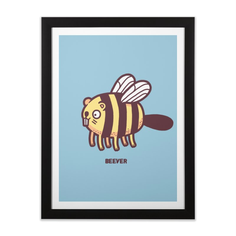 Beever Home Framed Fine Art Print by Randyotter
