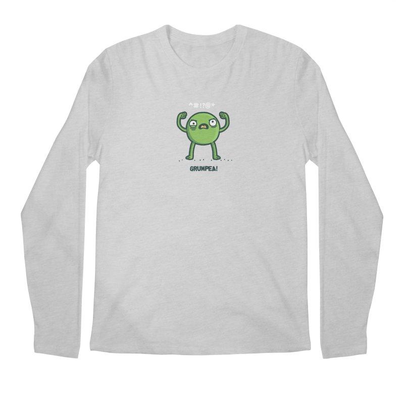 Grumpea Men's Longsleeve T-Shirt by Randyotter