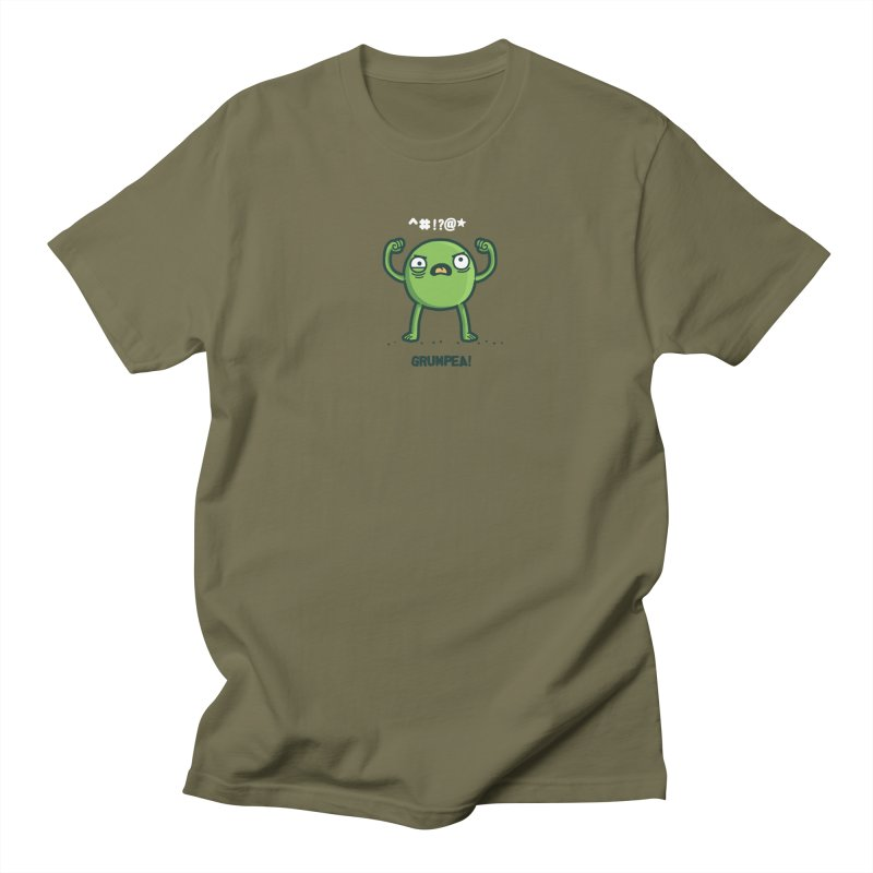 Grumpea Men's T-shirt by Randyotter