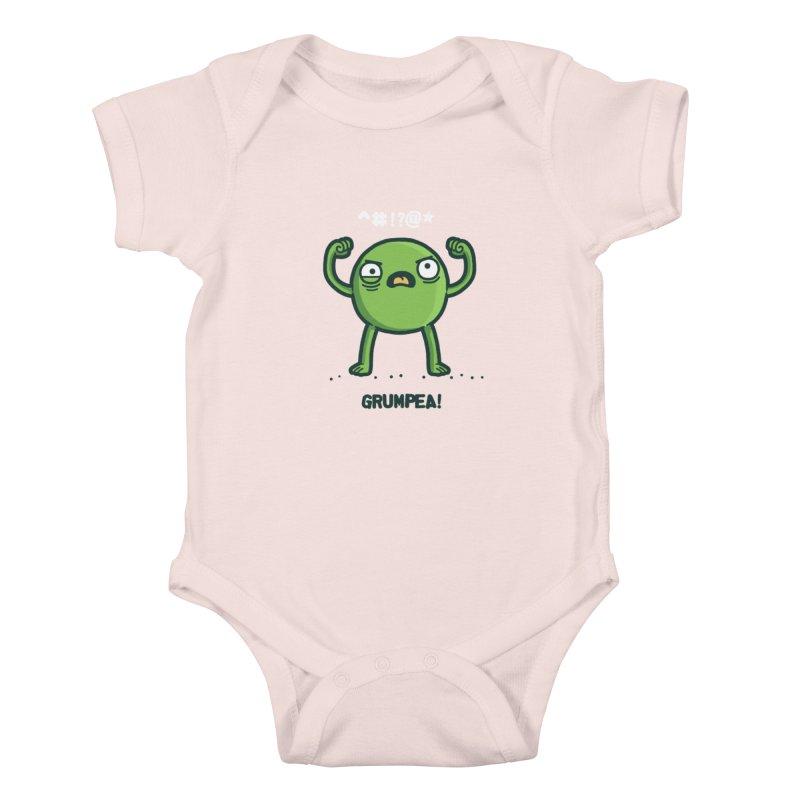 Grumpea Kids Baby Bodysuit by Randyotter