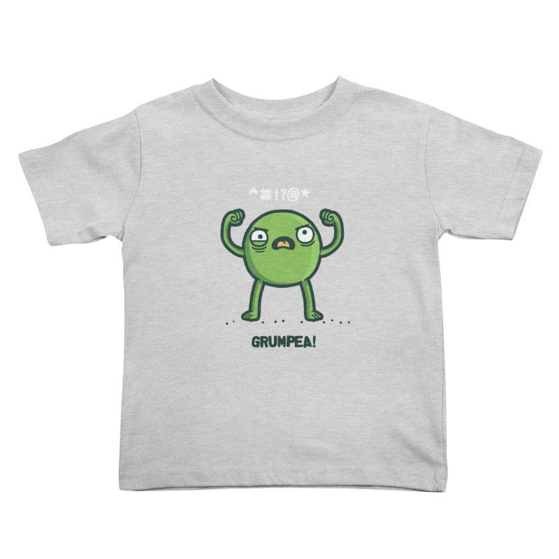 Grumpea Kids Toddler T-Shirt by Randyotter
