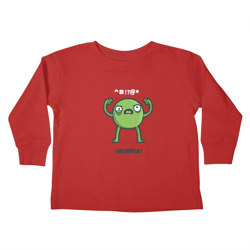 Grumpea Kids Toddler Longsleeve T-Shirt by Randyotter
