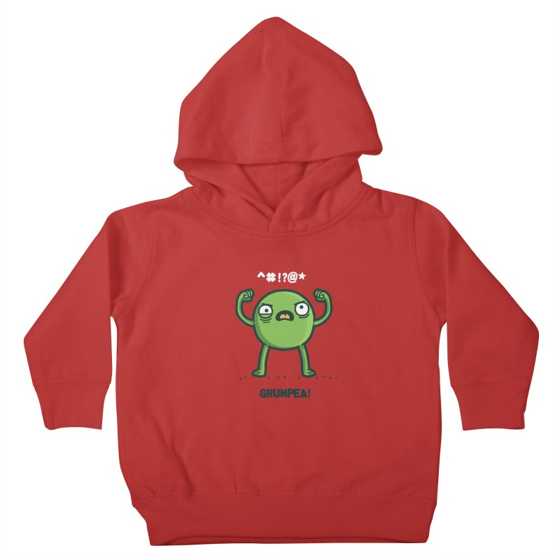 Grumpea Kids Toddler Pullover Hoody by Randyotter