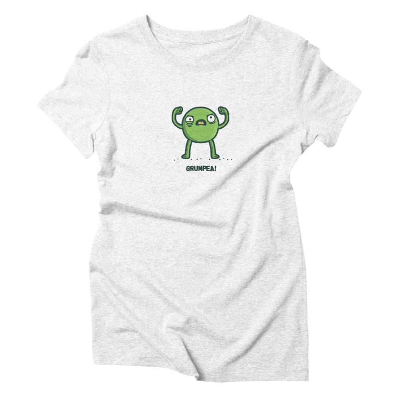 Grumpea Women's Triblend T-shirt by Randyotter