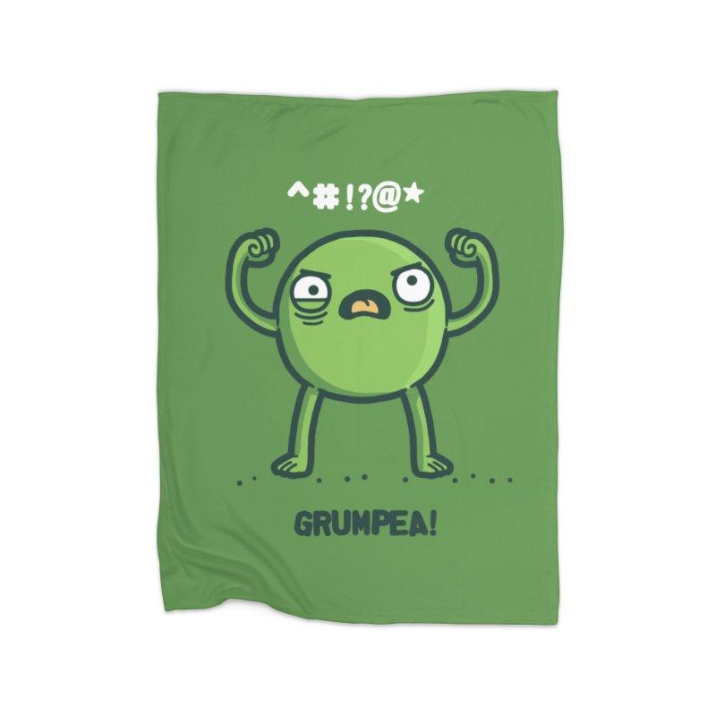 Grumpea Home Blanket by Randyotter