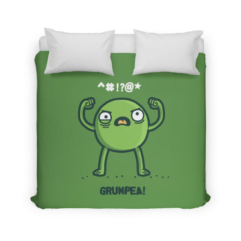 Grumpea Home Duvet by Randyotter