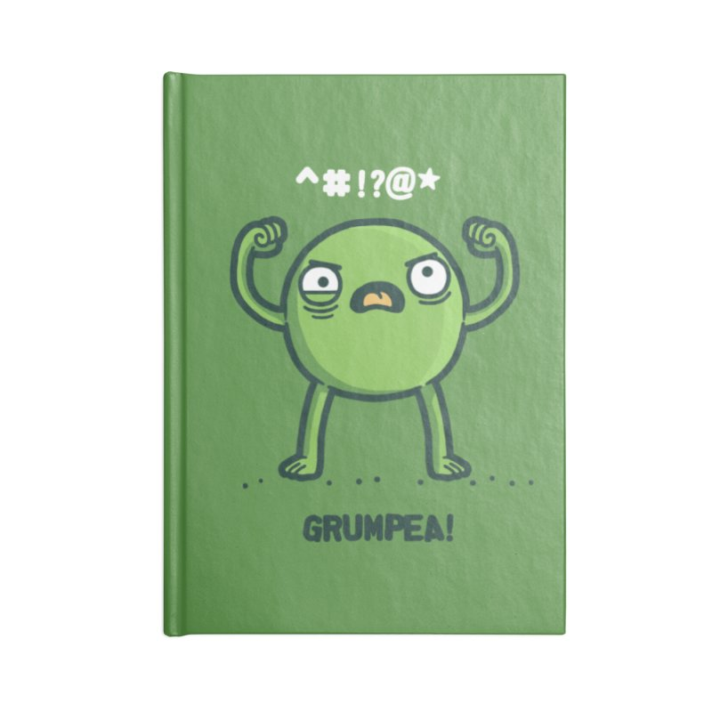 Grumpea Accessories Notebook by Randyotter