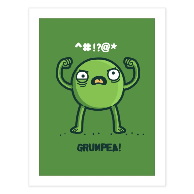 Grumpea Home Fine Art Print by Randyotter