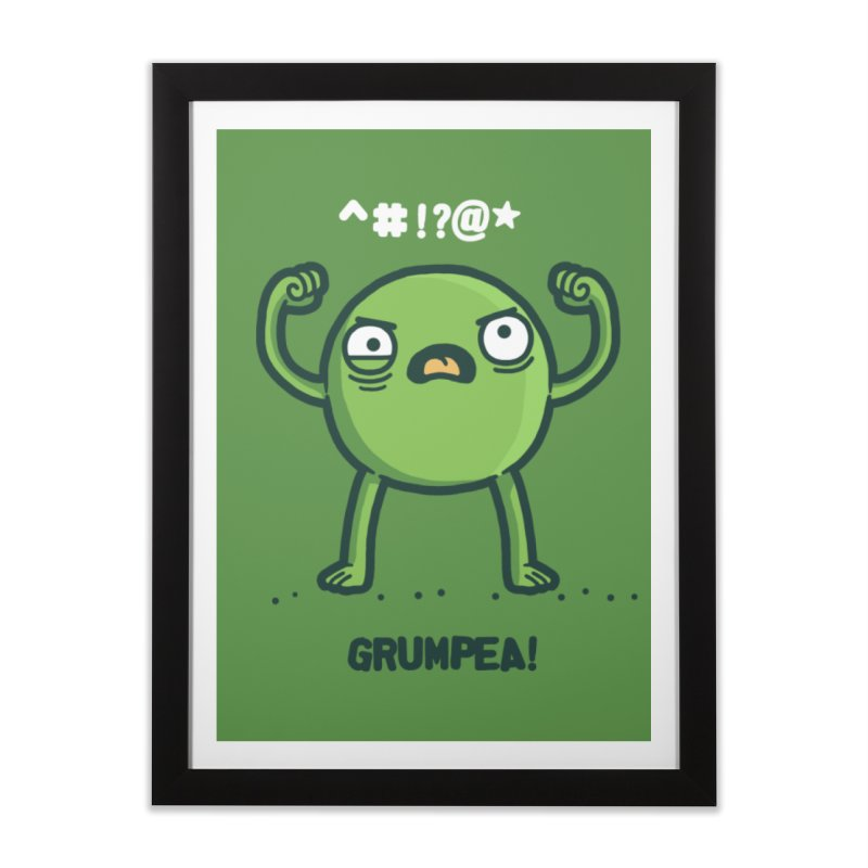 Grumpea Home Framed Fine Art Print by Randyotter