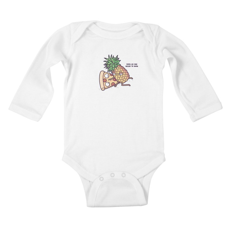Forbidden love Kids Baby Longsleeve Bodysuit by Randyotter