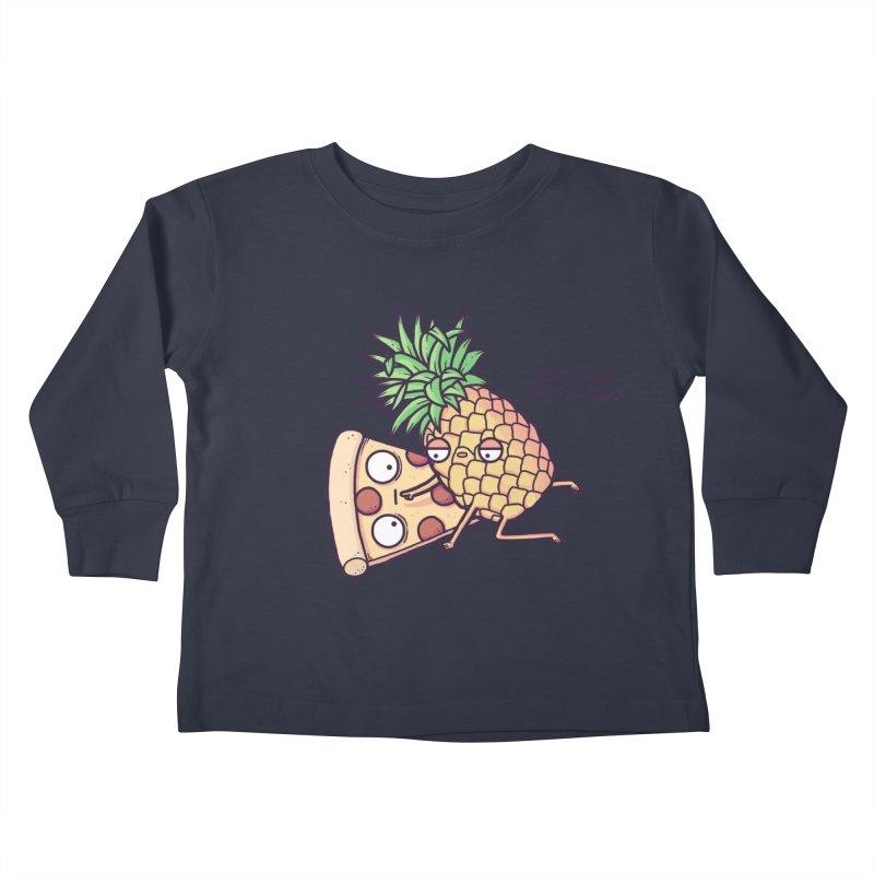 Forbidden love Kids Toddler Longsleeve T-Shirt by Randyotter