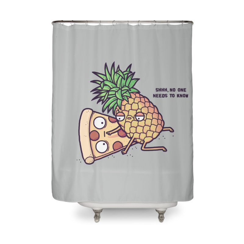 Forbidden love Home Shower Curtain by Randyotter