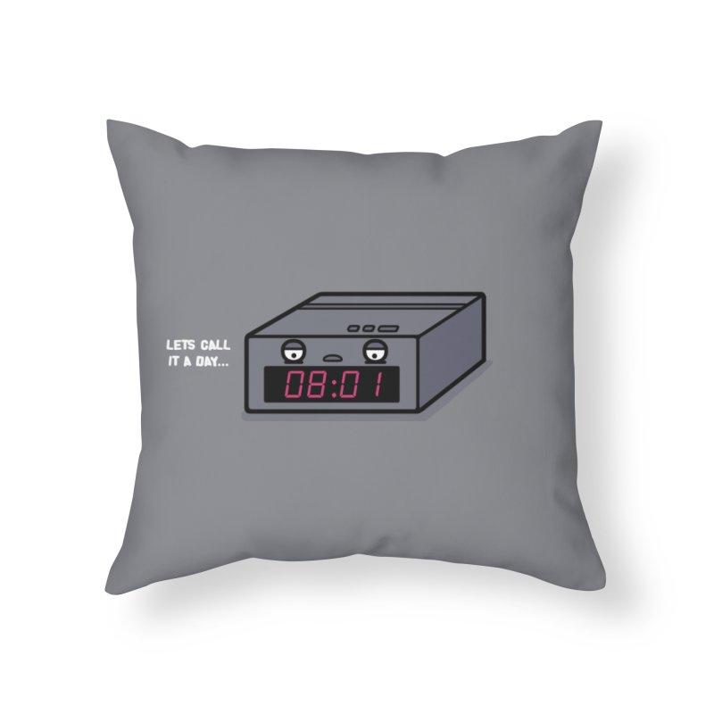 Call it Home Throw Pillow by Randyotter