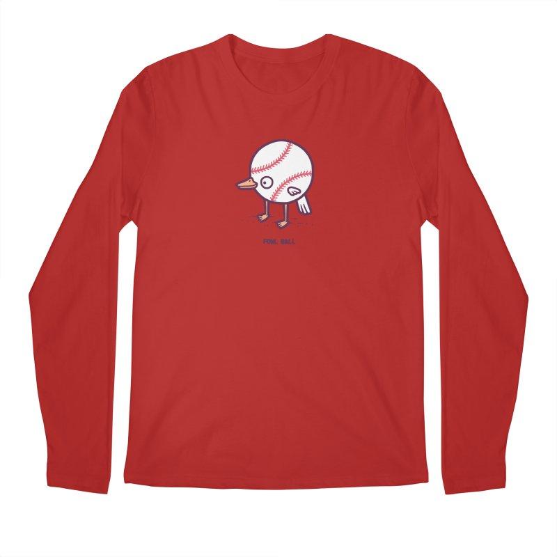 Fowl ball Men's Longsleeve T-Shirt by Randyotter